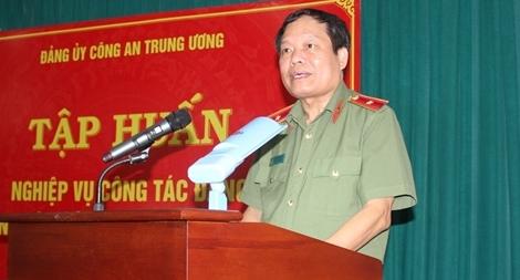 Tập huấn nghiệp vụ công tác đảng trong lực lượng CAND năm 2019