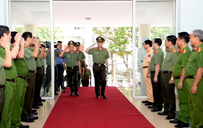 Bộ trưởng Tô Lâm làm việc với Công an tỉnh Thừa Thiên Huế