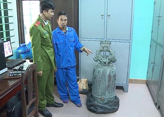 Viết thư cảm ơn Công an bắt giữ đối tượng trộm cổ vật Đại Hồng Chung