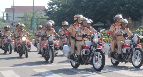 CSGT Công an tỉnh Thừa Thiên Huế mở đợt cao điểm đảm bảo ATGT