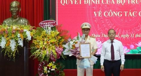 Công bố quyết định Giám đốc Công an tỉnh Thừa Thiên Huế