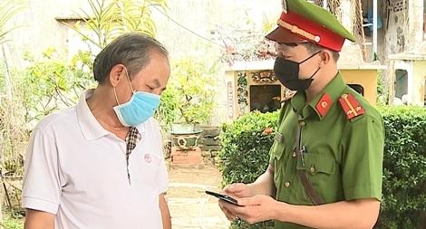 """Công an Thừa Thiên Huế """"thần tốc"""" truy vết F1, F2 BN COVID-19"""