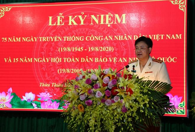 Công an tỉnh Thừa Thiên Huế gặp mặt kỷ niệm 75 năm Ngày truyền thống CAND