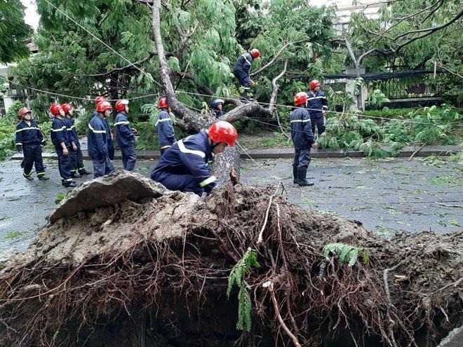 Công an Thừa Thiên Huế khắc phục hậu quả sau bão số 5 - Ảnh minh hoạ 2