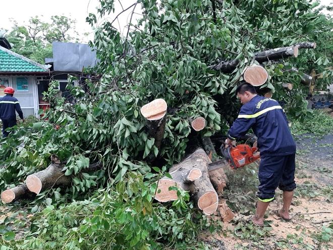 Công an Thừa Thiên Huế khắc phục hậu quả sau bão số 5 - Ảnh minh hoạ 10