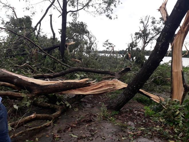 Công an Thừa Thiên Huế khắc phục hậu quả sau bão số 5 - Ảnh minh hoạ 7