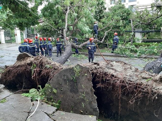 Công an Thừa Thiên Huế khắc phục hậu quả sau bão số 5 - Ảnh minh hoạ 5