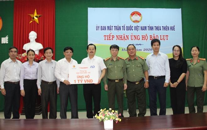 Báo CAND và các doanh nghiệp ủng hộ 1 tỷ đồng hỗ trợ đồng bào ngập lũ ở tỉnh Thừa Thiên Huế - Ảnh minh hoạ 2