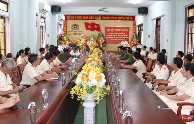 Trại tạm giam Công an các tỉnh tổ chức gặp mặt 70 năm ngày truyền thống - Ảnh minh hoạ 3