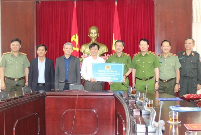 Quỹ Nghĩa tình đồng đội ủng hộ nhân dân và Công an Thừa Thiên Huế  3 tỷ đồng - Ảnh minh hoạ 4