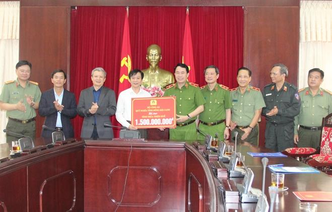 Quỹ Nghĩa tình đồng đội ủng hộ nhân dân và Công an Thừa Thiên Huế  3 tỷ đồng - Ảnh minh hoạ 3