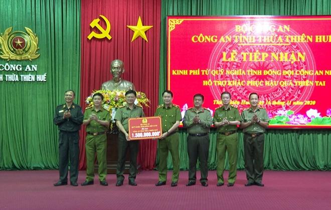 Quỹ Nghĩa tình đồng đội ủng hộ nhân dân và Công an Thừa Thiên Huế  3 tỷ đồng - Ảnh minh hoạ 2