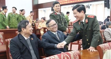 Đảng ủy Công an Trung ương gặp mặt, chúc Tết cán bộ Công an nghỉ hưu