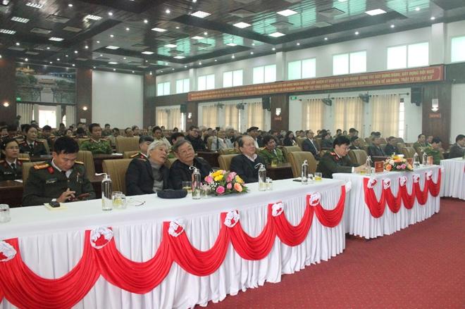 Đảng ủy Công an Trung ương gặp mặt, chúc Tết cán bộ Công an nghỉ hưu - Ảnh minh hoạ 4