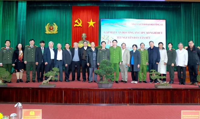 Đảng ủy Công an Trung ương gặp mặt, chúc Tết cán bộ Công an nghỉ hưu - Ảnh minh hoạ 5