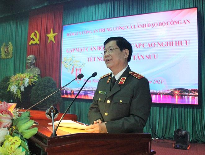Đảng ủy Công an Trung ương gặp mặt, chúc Tết cán bộ Công an nghỉ hưu - Ảnh minh hoạ 3