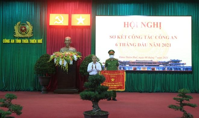 Công an tỉnh Thừa Thiên Huế sơ kết công tác 6 tháng đầu năm 2021 - Ảnh minh hoạ 2