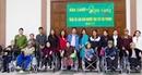 Báo CAND- Hội Từ thiện Sen Vàng BERLIN tặng xe lăn cho người tàn tật Hải Phòng