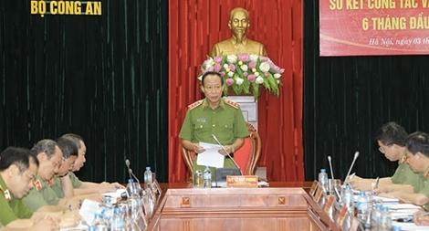 Đảng ủy Công an Trung ương sơ kết công tác văn phòng cấp ủy 6 tháng đầu năm 2017