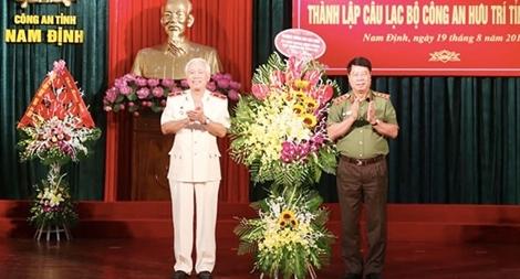 Công bố quyết định thành lập CLB Công an hưu trí Nam Định