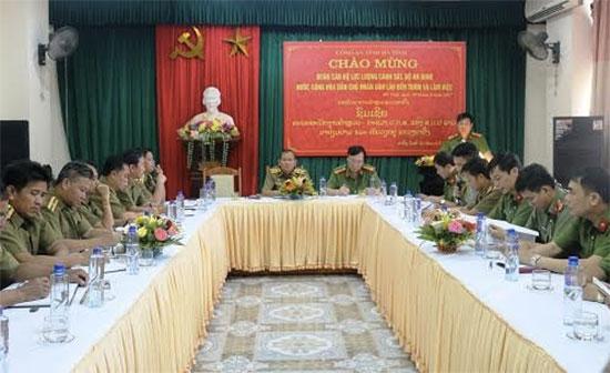Nâng cao công tác truy nã tội phạm giữa hai nước Việt - Lào