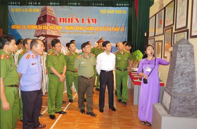 Trưng bày triển lãm Hoàng Sa, Trường Sa của Việt Nam – Những bằng chứng lịch sử và pháp lý