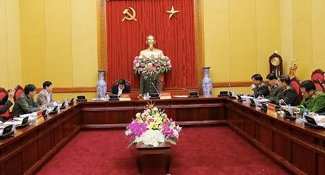 Đảng ủy Công an Trung ương làm việc với Đoàn khảo sát của Ban Nội chính Trung ương