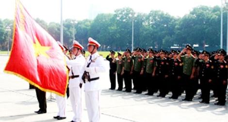 Phát huy truyền thống anh hùng, lực lượng Cảnh vệ phấn đấu hoàn thành trọng trách trong giai đoạn mới