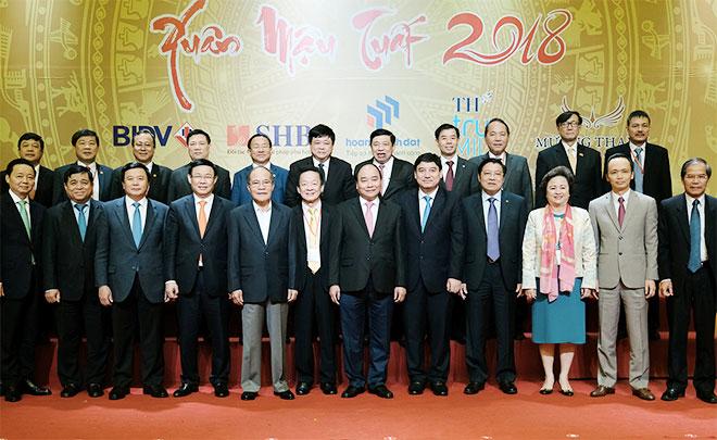 Thủ tướng cùng các đại biểu dự hội nghị. - Ảnh: VGP/Quang Hiếu
