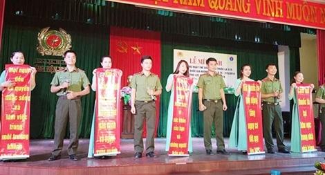 Tuần lễ quốc gia không khói thuốc trong lực lượng CAND 2018