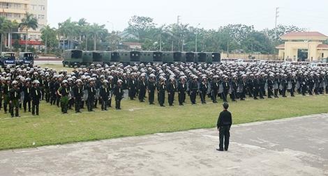 Trung đoàn CSCĐ Thủ Đô: Vì nước quên thân, vì dân phục vụ