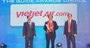 """Vietjet tiếp tục được vinh danh """"Hãng hàng không tiên phong"""" tại The Guide Awards 2018"""