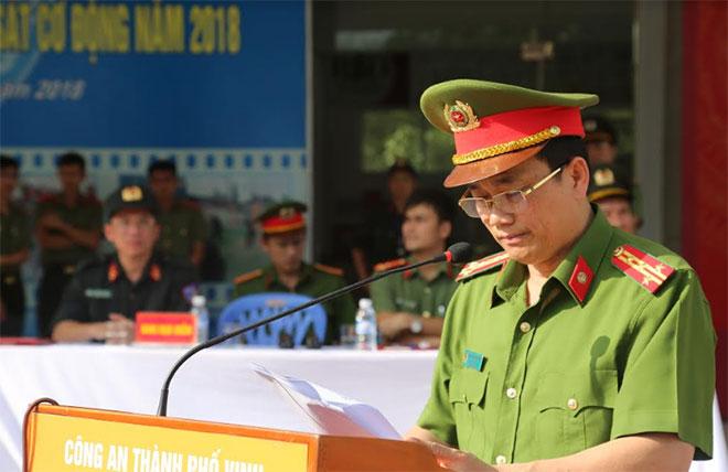 Công an TP Vinh hoàn thành huấn luyện chiến thuật CSCĐ năm 2018 - Ảnh minh hoạ 2