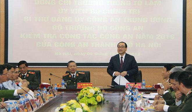 Đoàn kiểm tra Bộ Công an kiểm tra công tác tại Công an TP Hà Nội - Ảnh minh hoạ 2