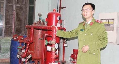 Giảng viên trẻ Trường Đại học Phòng cháy chữa cháy có bài đăng trên tạp chí uy tín quốc tế