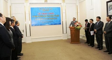 Bộ Công an trao Kỷ niệm chương tặng Trưởng Đại diện Bộ An ninh quốc gia Trung Quốc