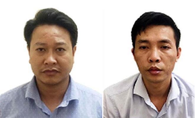 Nguyễn Khắc Tuấn và Ðỗ Mạnh Tuấn.