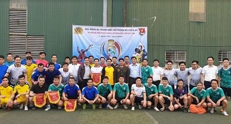 Bế mạc giải Bóng đá Thanh niên Văn phòng Bộ Công an
