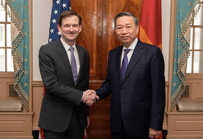 Việt Nam - Hoa Kỳ đẩy mạnh hợp tác phòng, chống tội phạm