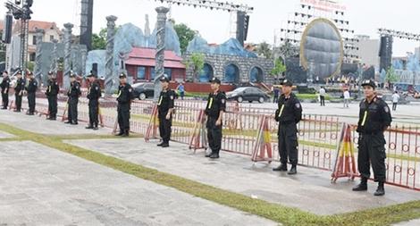 Chủ động các biện pháp đảm bảo an toàn Lễ Kỷ niệm 990 năm Thanh Hóa