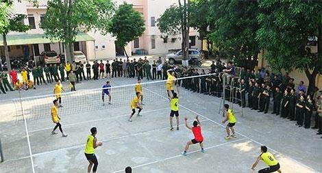 Giải bóng chuyền chào mừng Ngày truyền thống lực lượng An ninh, Cảnh sát