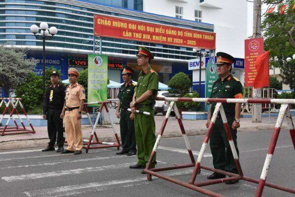 Đảm bảo ANTT trong thời gian diễn ra Đại hội Đảng bộ tỉnh Bình Thuận