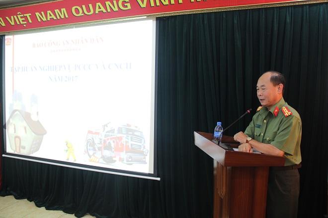 Báo CAND tập huấn phòng cháy chữa cháy cho cán bộ, chiến sĩ - Ảnh minh hoạ 2