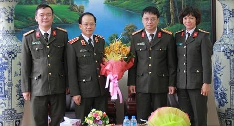 Báo CAND chúc mừng ngày Nhà giáo Việt Nam các trường CAND