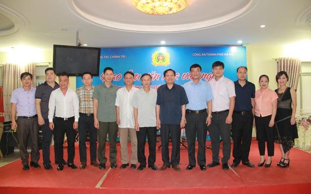 Giao lưu thể thao, VHVN giữa Cục Công tác Chính trị và Công an TP. Hà Nội