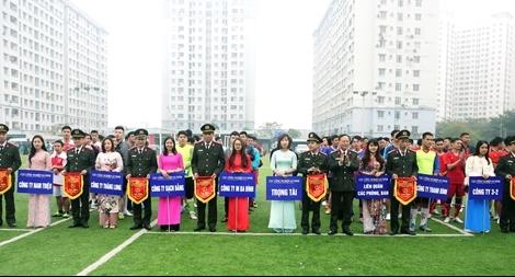 Cục Công nghiệp An ninh tổ chức Giải bóng đá mini lần thứ I
