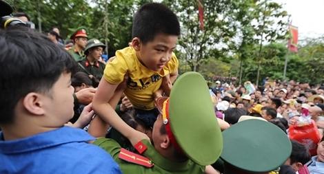 Lực lượng Công an bảo đảm an toàn tuyệt đối cho lễ giỗ Tổ Hùng Vương