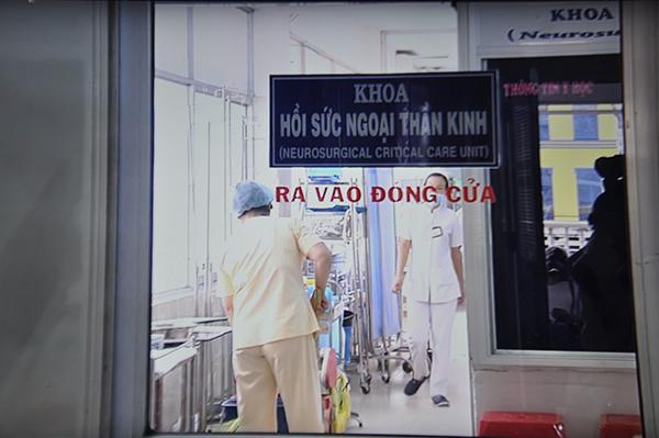 Khoa Hồi sức Ngoại thần kinh Chợ Rẫy - nơi đang chăm sóc đặc biệt cho bé Ái V.