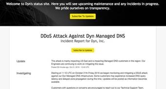 Mỹ: Các trang mạng lớn đồng loạt bị tấn công