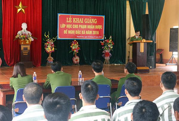 Trại giam Thanh Lâm sẵn sàng cho ngày đặc xá